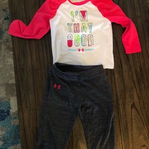 Under Armour Baby Girl Set